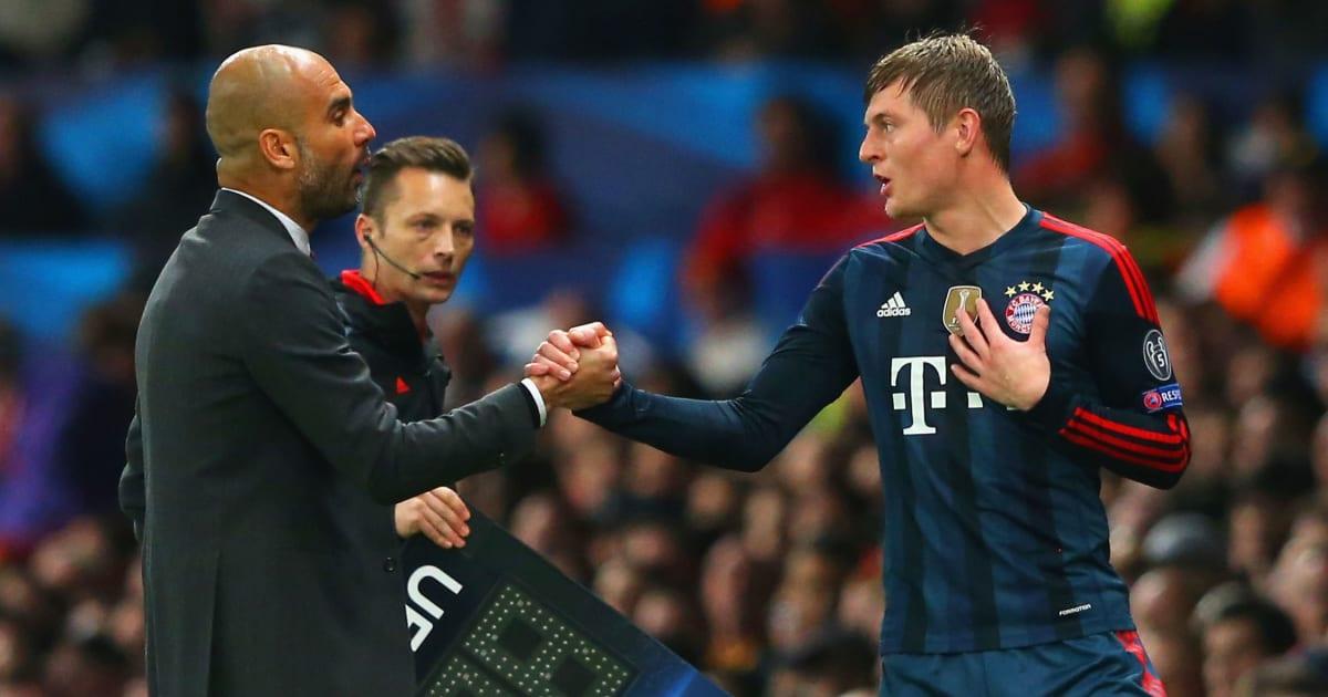 VIDÉO : L'échange mystérieux entre Pep Guardiola et Toni Kroos