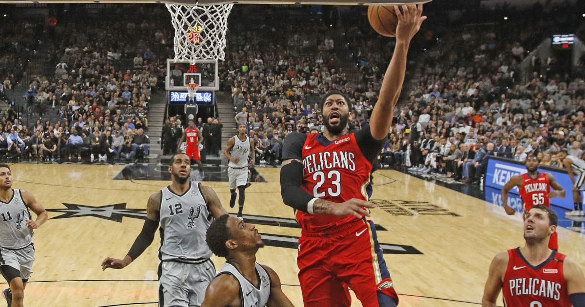 San Antonio Spurs at New Orleans Pelicans NBA Betting ...