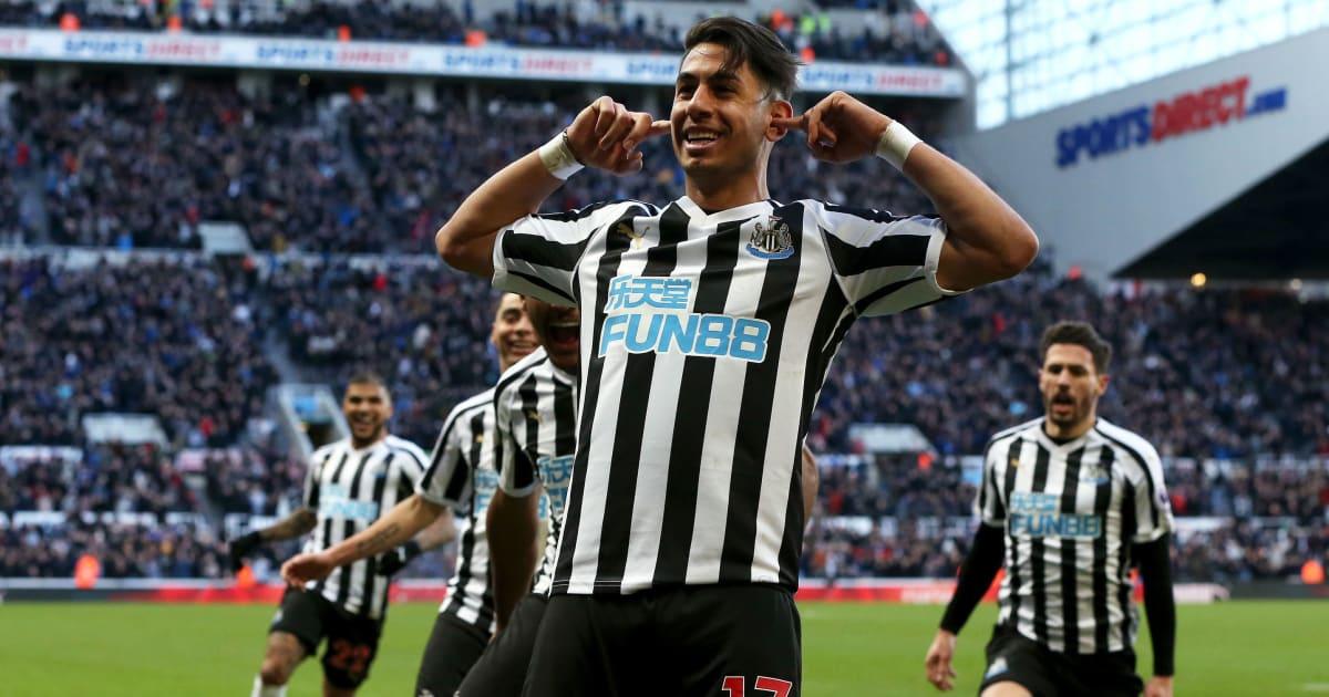 Napoli Eye Surprise Move for Newcastle Striker Ayoze Perez ...