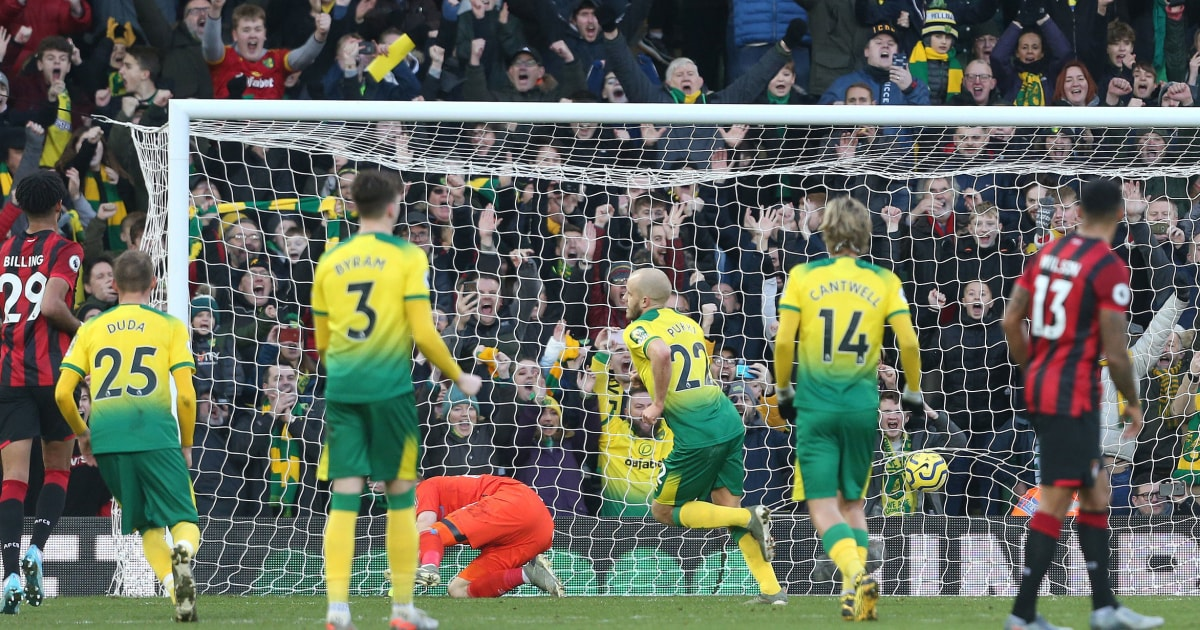 Norwich 1 0 Bournemouth Report Ratings Reaction As Teemu Pukki Penalty Settles Six Pointer 90min