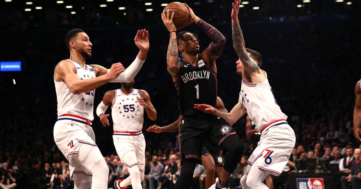 Image result for nets vs 76ers