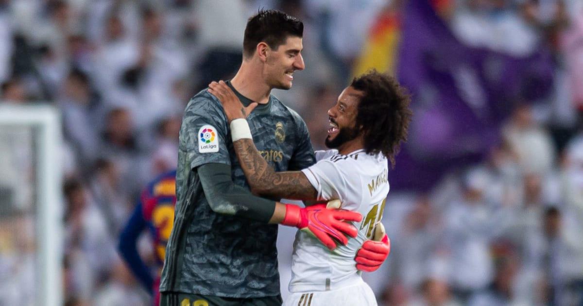 ผลการค้นหารูปภาพสำหรับ Real Madrid: Thibaut Courtois and Marcelo injury doubts for Manchester City tie