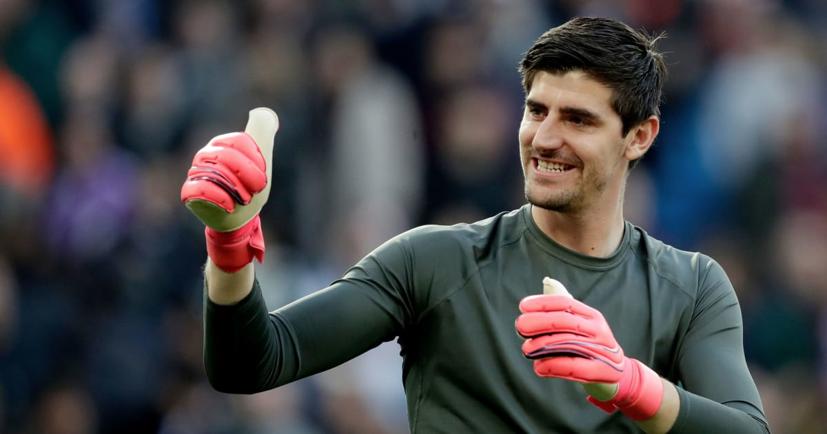 Real Madrid's Thibaut Courtois Named La Liga Player of the Month for January