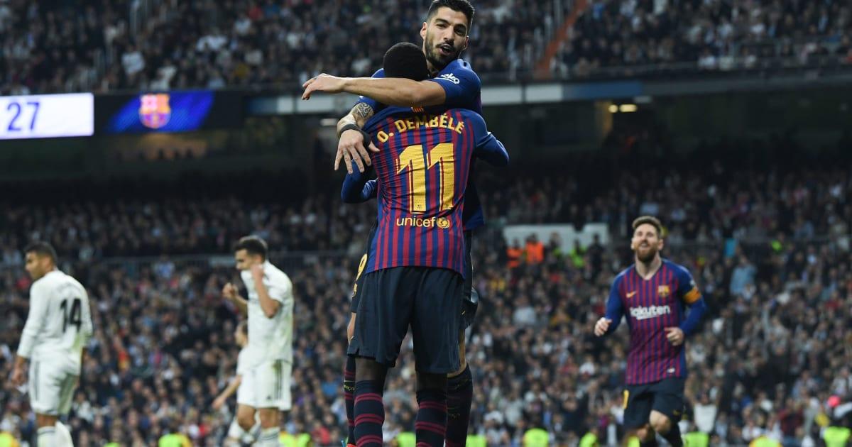 Prediksi Lineup Real Madrid Vs Getafe La Liga: Prediksi Line Up Barcelona Vs Real Madrid - La Liga
