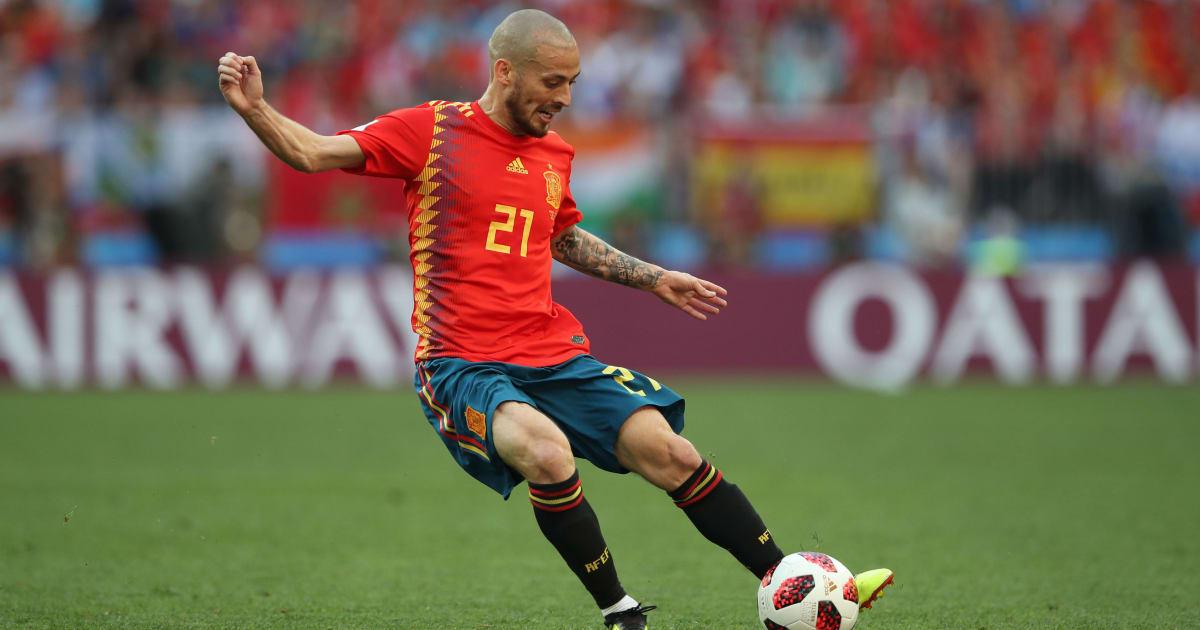 Man City Midfielder David Silva Retires From International Football After 12-Year Spell With Spain