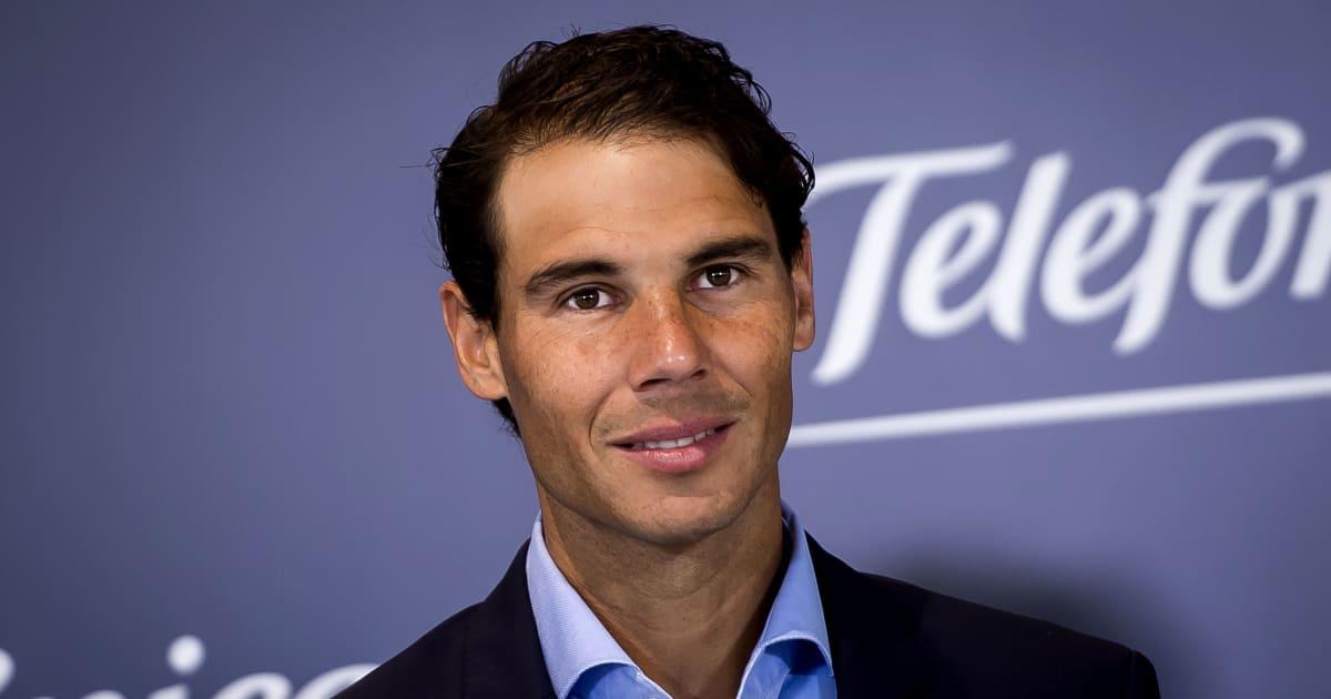 Florentino Perez Backs Tennis Champion Rafael Nadal To