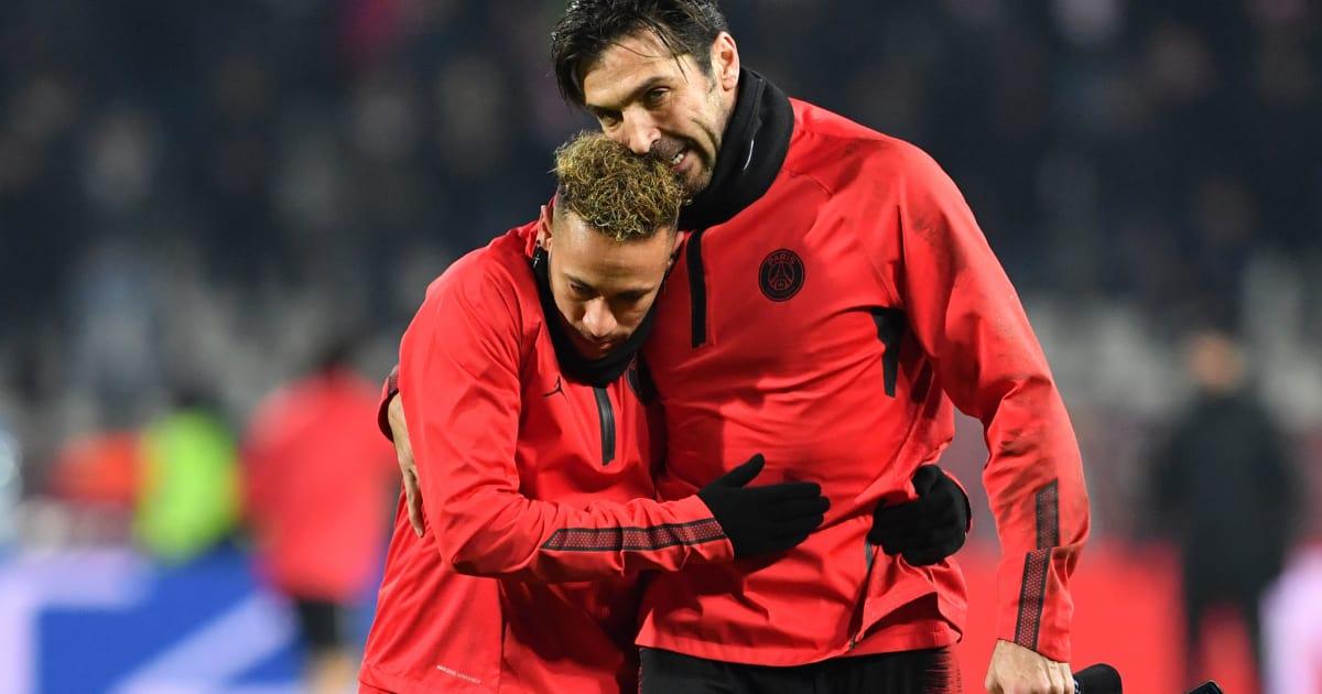 Gianluigi Buffon Claims Neymar Not Having Won the Ballon d'Or Yet is Scandalous
