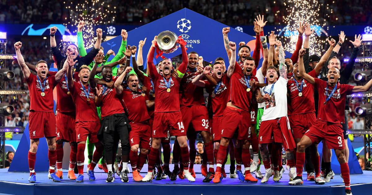CHÙM ẢNH Liverpool nâng cup vô địch Champions League 2018/19