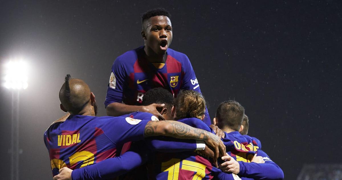 Quique Setien Kecam Performa Barcelona Saat Susah Payah ...