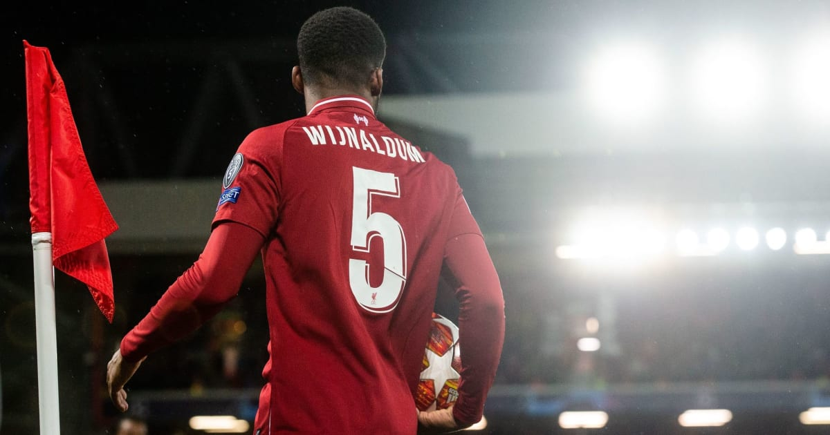 Gini Wijnaldum Reveals Why He Wears 'Lucky' Number Five & Names Childhood Idol