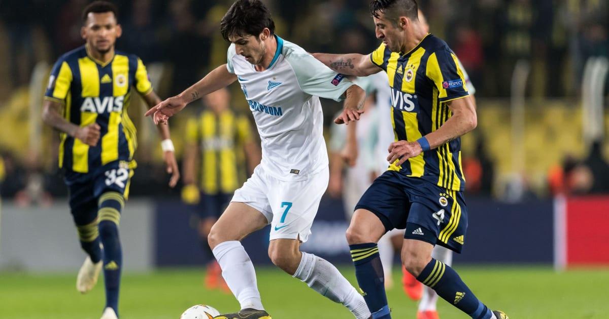 Fenerbahçe Zenit: UEFA Avrupa Ligi'ndeki Fenerbahçe