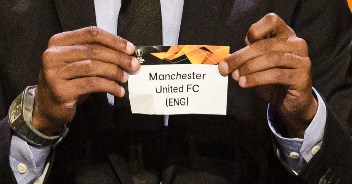 uefa europa league last 32 draw confirmed ties fixture dates more 90min uefa europa league last 32 draw