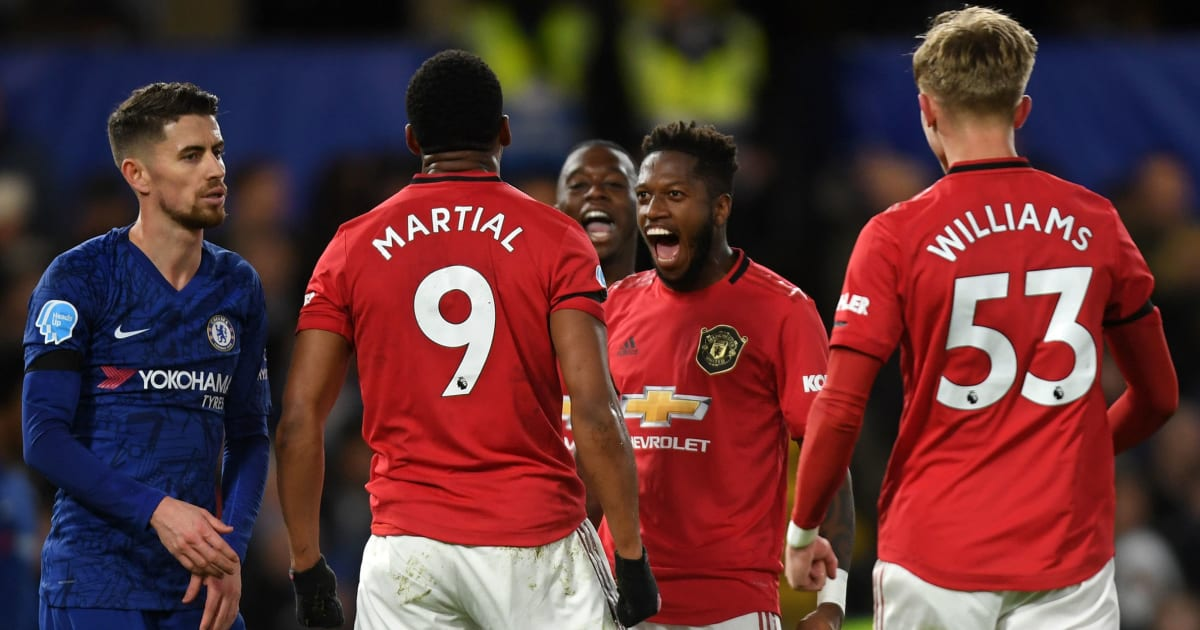 Chelsea 0-2 Man Utd: Report, Ratings and Reaction as United Survive VAR Scares to Grab Key Win