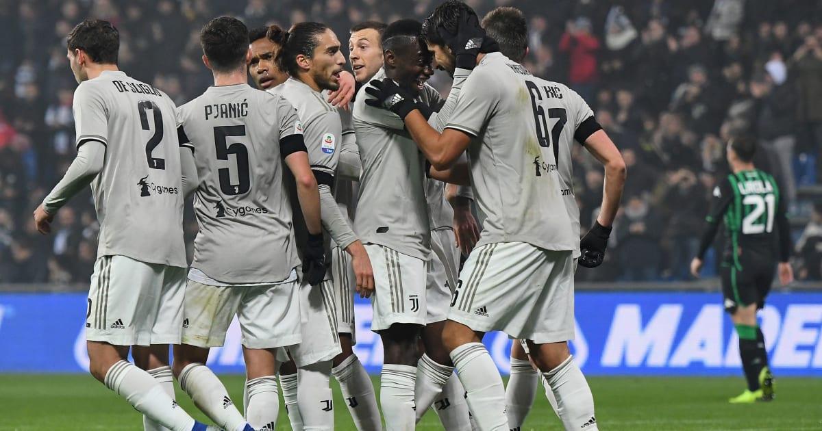 Sassuolo Vs Juventus: Juventus (0-3) : Les Notes De La Belle Victoire