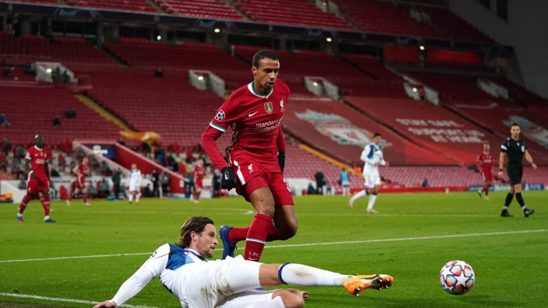 Liverpool 0-2 Atalanta: Player Ratings as Reds Slump to ...