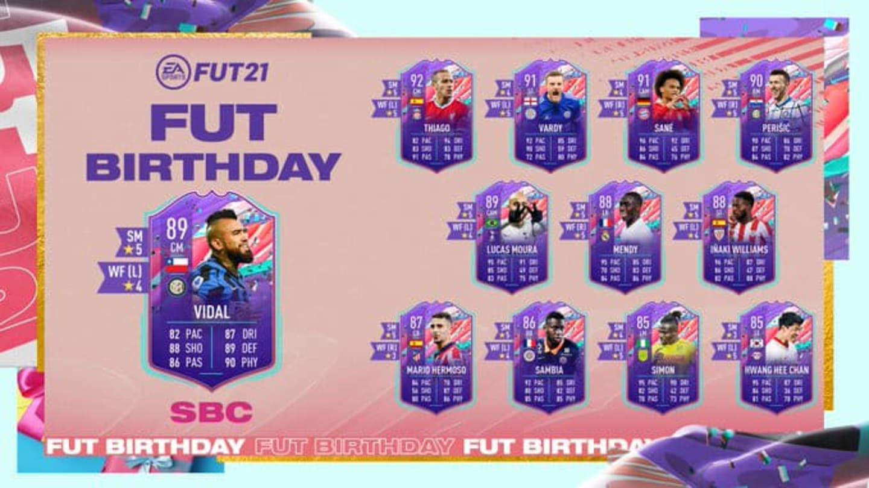 Arturo Vidal FIFA 21: Cómo completar el DCP de cumpleaños de FUT