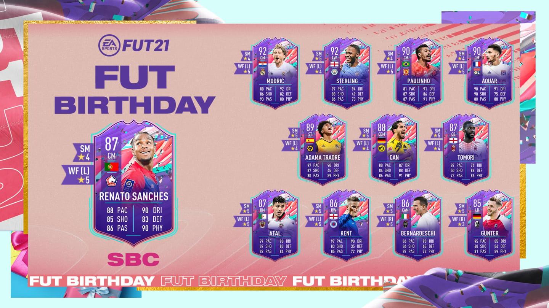 Renato Sanches FIFA 21: Cómo completar el DCP de cumpleaños