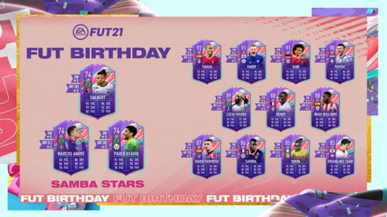 Desafíos de FIFA 21 Samba Stars: cómo completar el conjunto de objetivos de cumpleaños de FUT