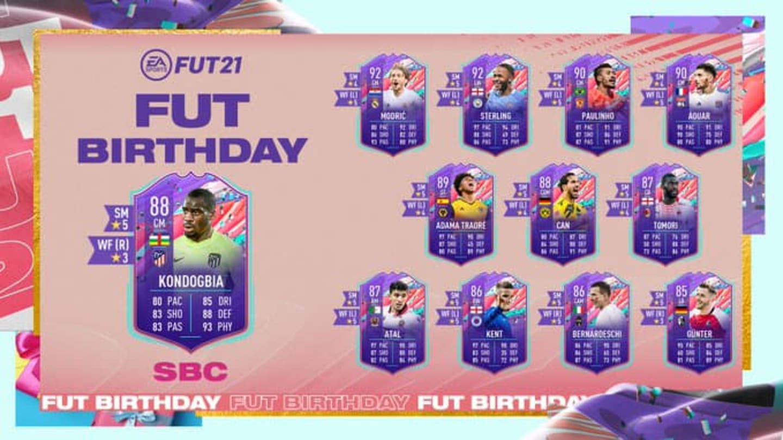 Geoffrey Kondogbia FIFA 21: Cómo completar el DCP de cumpleaños de FUT