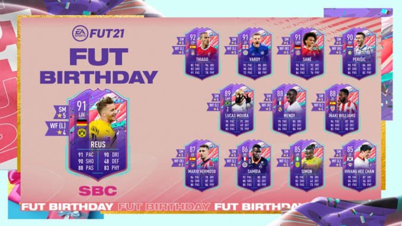 Marco Reus FIFA 21: Cómo completar el DCP de cumpleaños de FUT