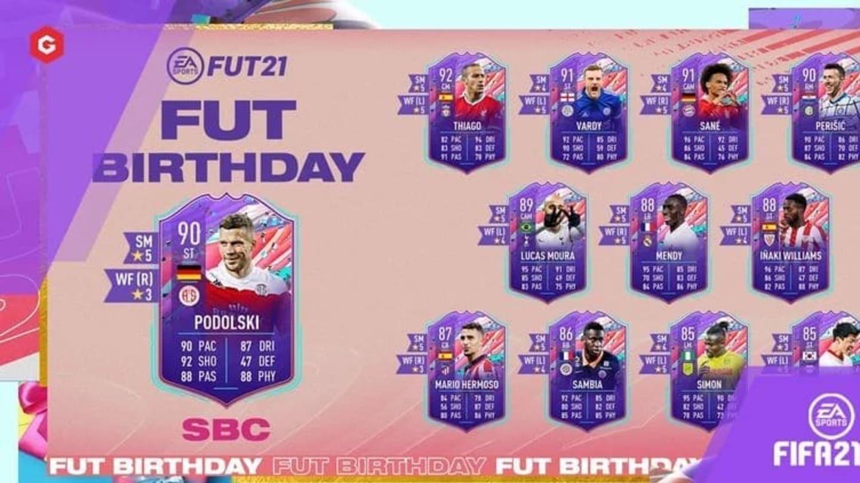Lucas Podolski FIFA 21: Cómo completar el DCP de cumpleaños de FUT