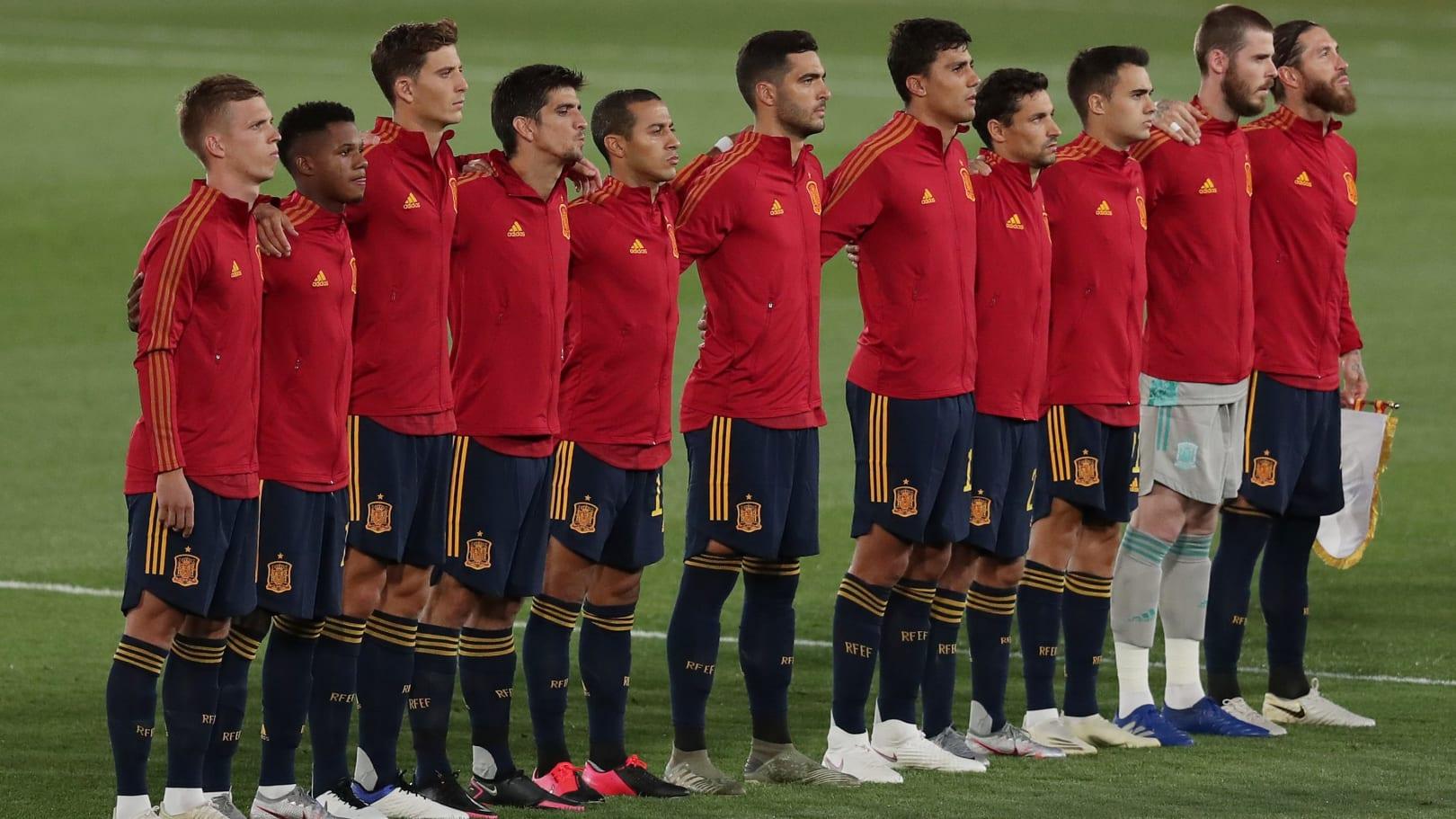 Hilo de la selección de España (selección española) - Página 2 Spain-v-Ukraine---UEFA-Nations-League-d5dce3f5a1d7531eda35dc8360b22431