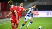 Union Berlin und Hertha BSC spielen Unentschieden