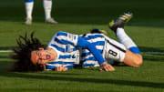 Mattéo Guendouzi s'est blessé avec le Hertha Berlin.