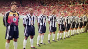 Newcastle have based their new kit on a classic from the 1990s