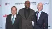 Mark Ford, LeBron James, Adam Silver