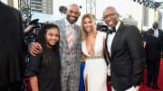 Vince Carter, Gwendolyn Osborne, Kenny Smith