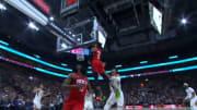 La gran combinación entre Harden y Westbrook fue en el duelo entre los Rockets y el Jazz