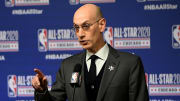Adam Silver at the 2020 NBA All-Star - NBA Commissioner Adam Silver Press Conference