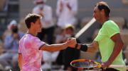 Rafael Nadal cedió un set luego de dos años en Roland Garros