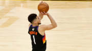 Devin Booker's odds to win NBA Finals MVP have surged after his Game 4 scoring outburst on FanDuel Sportsbook.