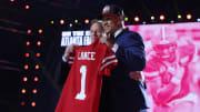 A look at the San Francisco 49ers' QB depth chart following the NFL Draft.