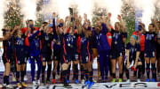 The USWNT broke multiple records en route to their 2021 SheBelieves Cup triumph