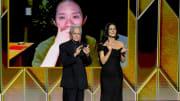 Michael Douglas y Catherine Zeta-Jones asistieron a los Golden Globes 2021