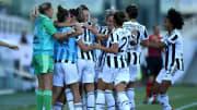 L'esultanza della Juventus