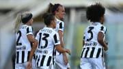 Uno scatto della Juventus femminile