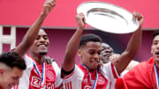 Ajax have melted down their trophy to offer supporters some memorabilia