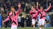 Alessandro Del Piero of Juventus reacts