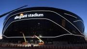 Allegiant Stadium Under Construction