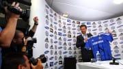 Andre Villas-Boas présenté comme le nouvel entraîneur de Chelsea.