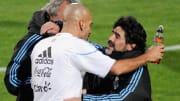 Diego Maradona, Juan Sebastian Veron