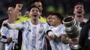 Argentina v Bolivia - FIFA World Cup 2022 Qatar Qualifier - Messi tuvo otra noche soñada.