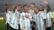 Lionel Messi, Rodrigo De Paul, Alejandro Gomez