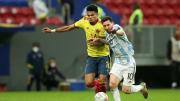 Messi vs Luis Díaz