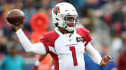 Kyler Murray quarterbacking the Arizona Cardinals against the Los Angeles Rams