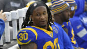 Todd Gurley could be a target of the Rams following the Cam Akers injury.